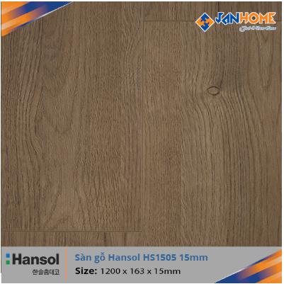 Sàn gỗ Hansol HS1505 - 15mm
